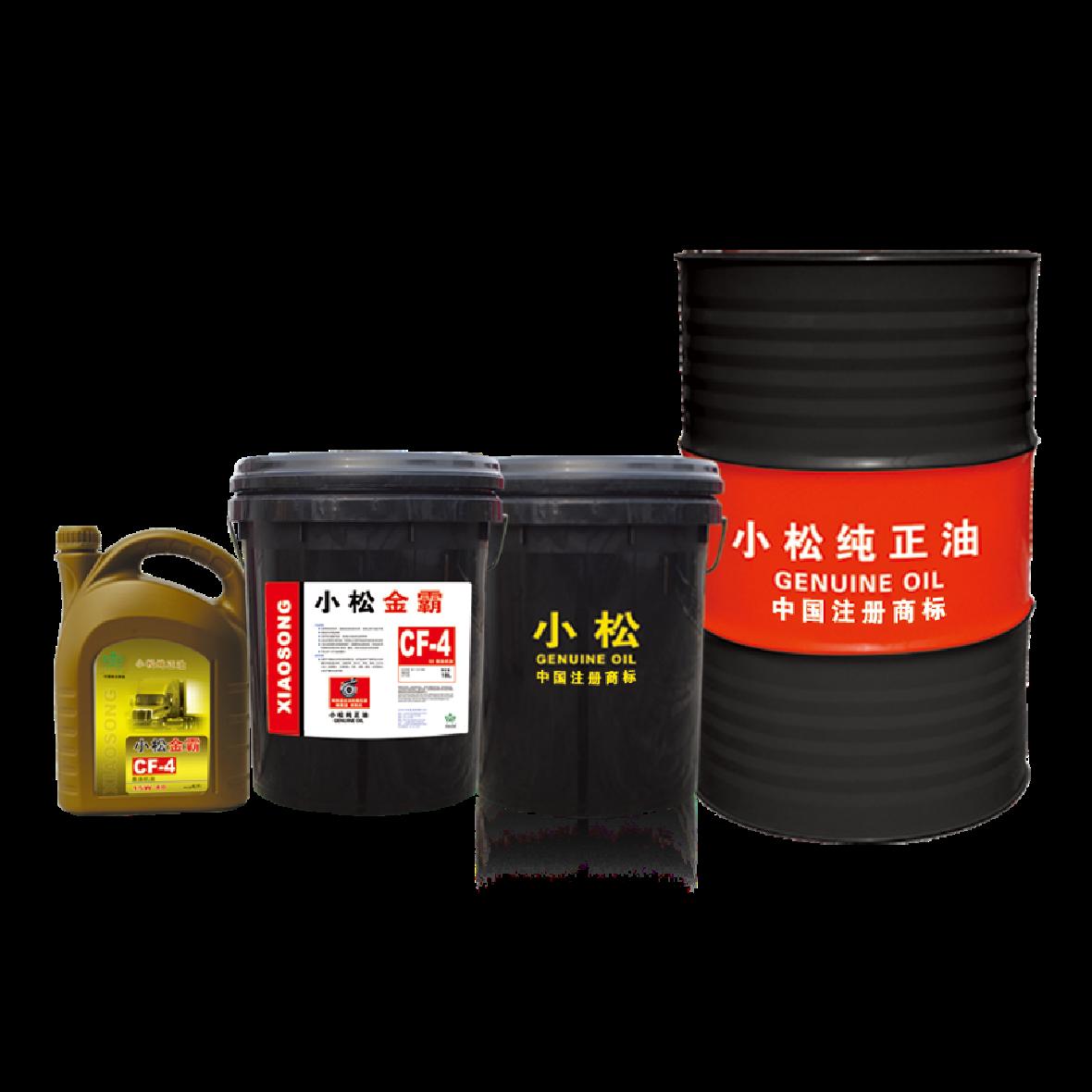 小松金霸系列柴油机油 API CF-4